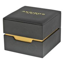 Akribos XXIV AK736YG Men's Ultimate Swiss Multifunction Gold-tone Stainless Steel Bracelet Watch