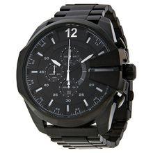 Diesel DZ4283 Mens Black Dial Analog Quartz Watch with Stainless Steel Strap