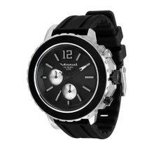 Men's Black Vestal Yacht Chronograph Watch YATCS03