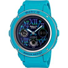 Blue Casio Baby-G Ana-Digital Multi-Color Watch BGA150GR-2B