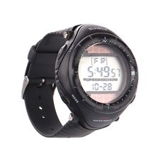 Hde HDE-S69 Mens Black Dial Digital Quartz Watch with Rubber Strap