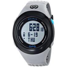 Soleus SG100-077 Mens Grey Dial Digital Quartz Watch with Resin Strap
