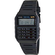Casio CA53W-1 Mens Digital Dial Digital Quartz Watch with Plastic Strap