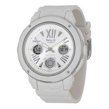 Casio BGA152-7B1 Womens White Dial Dual Quartz Watch