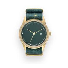 Hypergrand NWM3BRSR Mens Green Dial Analog Quartz Watch
