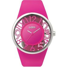 Odm DD152C-03 Womens Pink Dial Analog Quartz Watch