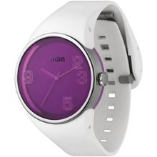 Odm DD131-5 Unisex Purple Dial Analog Quartz Watch