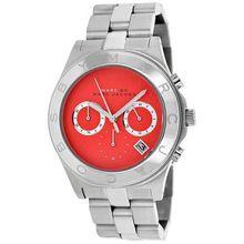 Marc Jacobs MBM3306 Womens Pink Dial Analog Quartz Watch