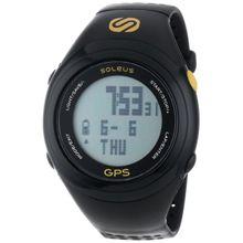 Soleus SG100020 Mens Grey Dial Digital Quartz Watch with Resin Strap