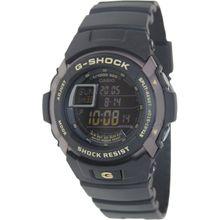 Casio G7710-1 Mens Black Dial Digital Quartz Watch with Resin Strap