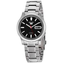 Seiko Seiko 5 SNK795 Mens Black Dial Analog Automatic Watch