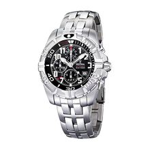 Festina F16095/5 Mens Black Dial Analog Quartz Watch with Stainless Steel Strap