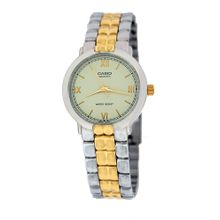Casio #MTP1168G-9A Men's Gold Two Tone Metal Fashion Analog Watch