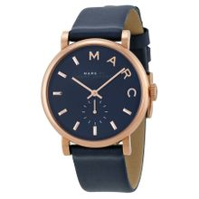Marc By Marc Jacobs MBM1329 Womens Blue Dial Analog Quartz Watch