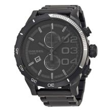Diesel DZ4326 Mens Black Dial Analog Quartz Watch with Stainless Steel Strap