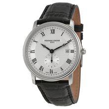 Frederique Constant FC-245M5S6 Mens Silver Dial Analog Quartz Watch
