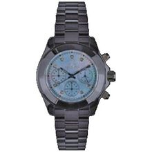 Toy Watch CC07BL Womens Blue Dial Quartz Watch with Ceramic Strap