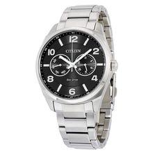 Citizen AO9020-84E Mens Black Dial Analog Quartz Watch