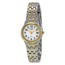Citizen EW1544-53A Womens White Dial Analog Quartz Watch