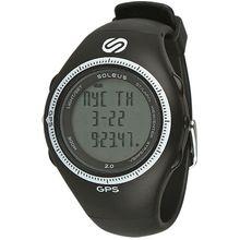 Soleus SG002004 Mens Grey Dial Digital Quartz Watch with Polyurethane Strap