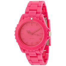Eos 359SPNK Mens Pink Dial Quartz Watch with Plastic Strap