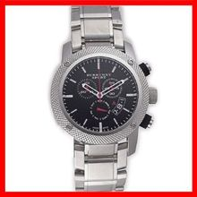 Burberry BU7702 Mens Black Dial Analog Quartz Watch with Stainless Steel Strap