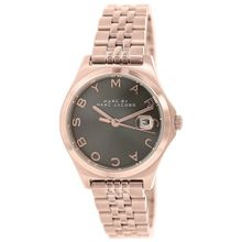 Marc Jacobs MBM3352 Womens Brown Dial Quartz Watch with Stainless Steel Strap