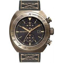 Szanto SZ4101 Mens Grey Dial Chronograph Quartz Watch