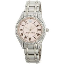 Juicy Couture 1900632 Womens Pink Dial Analog Quartz Watch