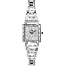 Bulova 96L140 Womens Dress Silver Dial Quartz Watch