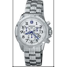 Men's Wenger GST Chronograph Swiss Steel Watch 78259