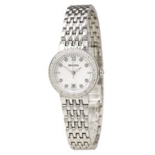 Bulova 96R203 Diamond Womens Quartz Stainless Steel Watch