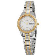 Citizen EW3144-51A Womens White Dial Analog Quartz Watch