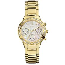 Guess W0546L2 Mens Mop Dial Analog Quartz Watch with Stainless Steel Strap