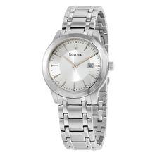 Bulova 96B165 Silver Mens Dial Stianless Steel  Watch