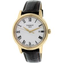 Tissot Mens Carson T085.410.36.013.00 Brown Leather Swiss Quartz Watch