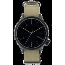 Komono KOM-W1930 Mens Analog Quartz Watch with Leather Strap