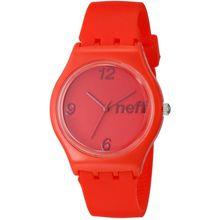 Neff NF0232-REDD Mens Red Dial Analog Quartz Watch