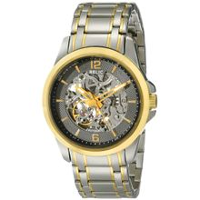 Relic ZR12109 Mens Grey Dial Analog Quartz Watch with Stainless Steel Strap