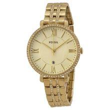 Fossil ES3547 Womens Champagne Dial Analog Quartz Watch