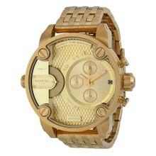 Diesel DZ7287 Mens Gold Dial Analog Quartz with Stainless Steel Strap Watch