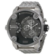 Diesel DZ7259 Mens Grey Dial Analog Quartz Watch with Stainless Steel Strap