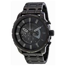 Diesel DZ4349 Mens Black Dial Analog Quartz Watch with Stainless Steel Strap