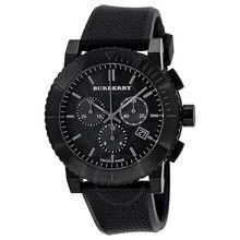 Burberry BU2301 Mens Black Dial Analog Quartz Watch