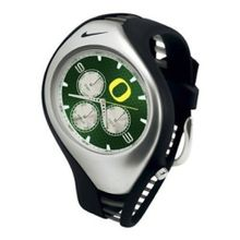 Nike NKORDK3I Mens Green Dial Quartz Watch with Rubber Strap