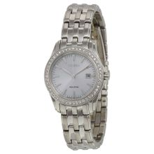Citizen EW1901-58A Womens Silver Dial Analog Quartz Watch
