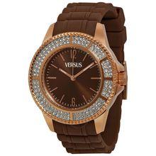 Versus By Versace SGM060013 Unisex Brown Dial Analog Quartz Watch