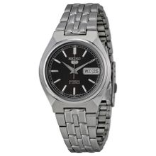 Seiko SNK305K Mens Brown Dial Analog Automatic Watch with Stainless Steel Strap