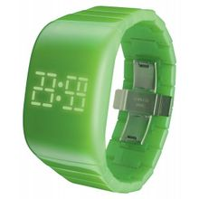 Odm DD133-09 Unisex Green Dial Digital LED Watch