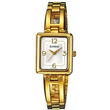 Casio #LTP1346G-7CDF Women's Gold Tone Metal Fashion Standard Bracelet Watch